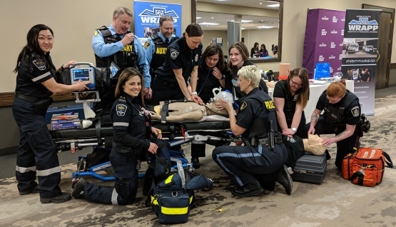 A career in emergency response is possible thanks to female-focused initiatives from police, fire, and paramedics.