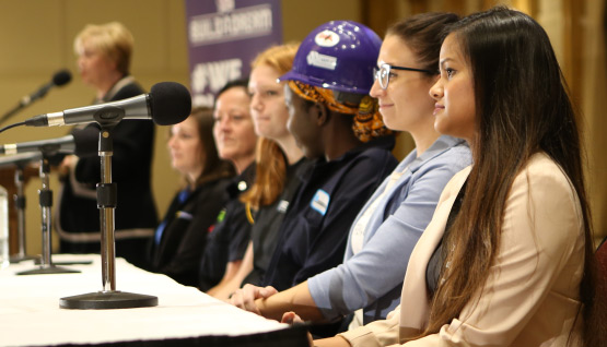 Hear from professional females at Build a Dream.