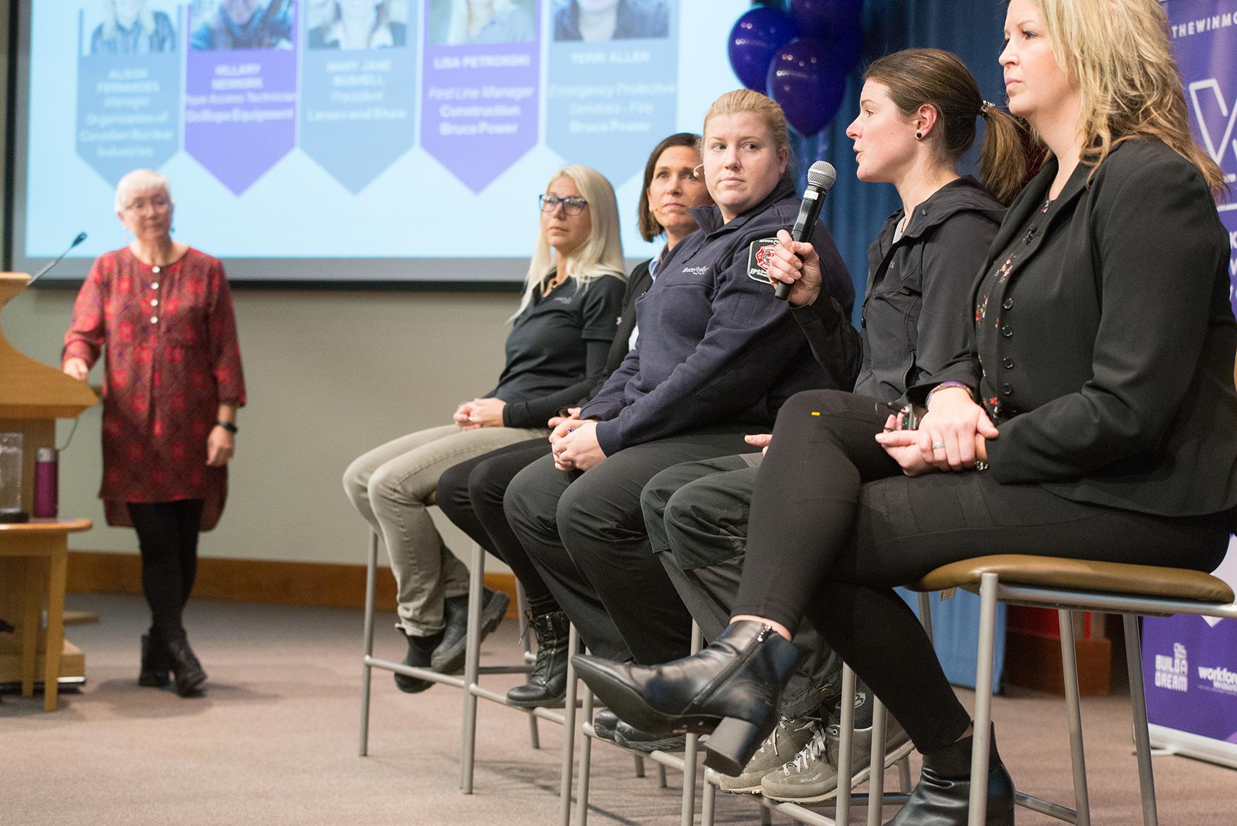 Panel talking
