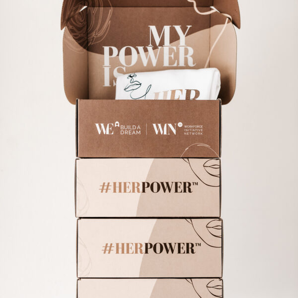 Build a Dream #HerPower Bundle - Boxes stacked.