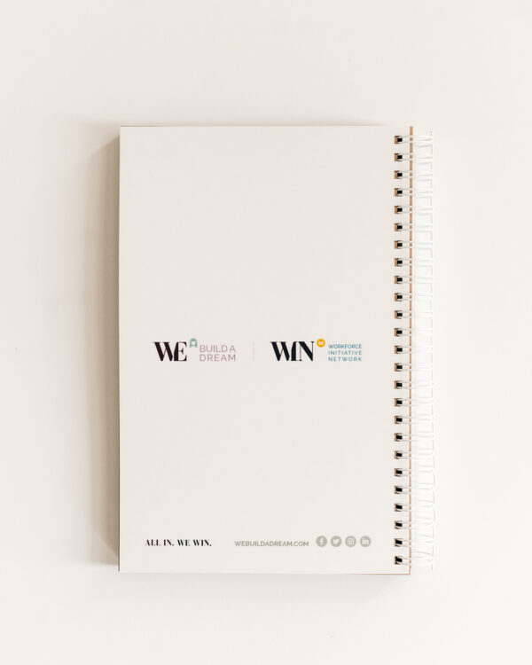 Build a Dream #HerPower Journal - Journey of Self Mastery - Back Cover