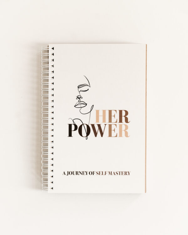 Build a Dream #HerPower Journal - Journey of Self Mastery - Front Cover