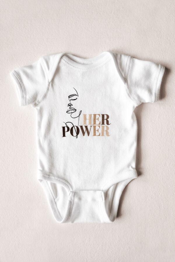 Build a Dream #HerPower Onesie