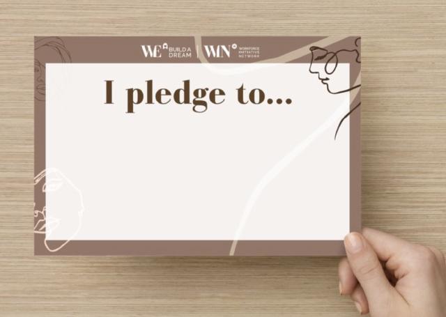 Build A Dream''s Diversity & Inclusion Pledge Card