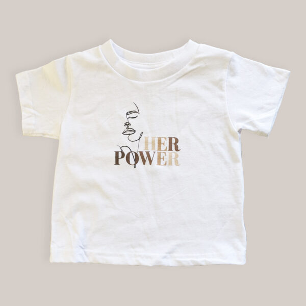 #HerPower Toddler Tee